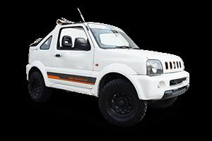 Zante Car Hire Offers Suzuki Jimny Jeep 4X4 for hire in Zante